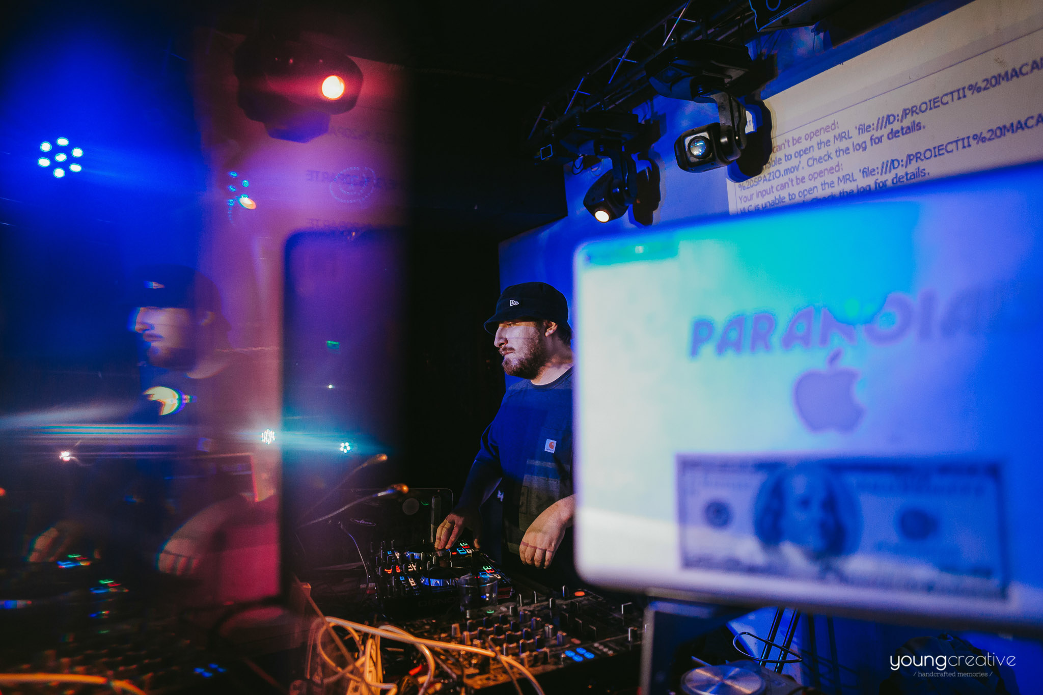 O Data Pe Luna Party w/ Macanache | youngcreative.info | Cristina Bejan, Dan Filipciuc